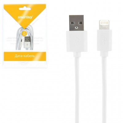 Кабель Smartbuy USB - 8-pin для Apple, длина 1,2 м (iK-512)