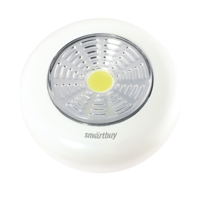 Фонарь PUSH LIGHT 1 Вт COB, Smartbuy (SBF-CL1-PL)