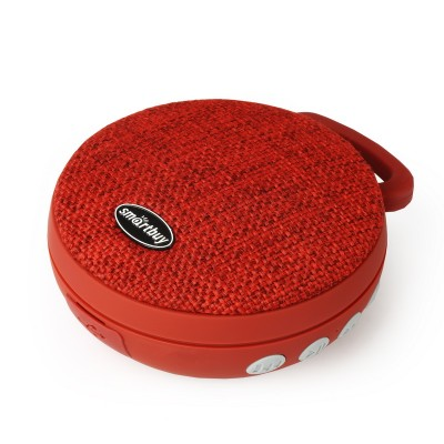 Колонка Smartbuy PIXEL, Bluetooth, Bass Boost, MP3, FM, красная (SBS-120)