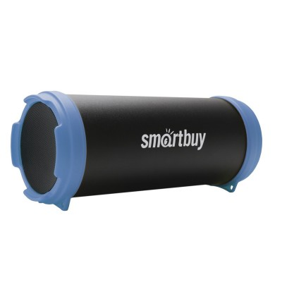 Колонка Smartbuy TUBER MKII, Bluetooth, MP3-плеер, FM-радио, черн/синяя(SBS-4400)