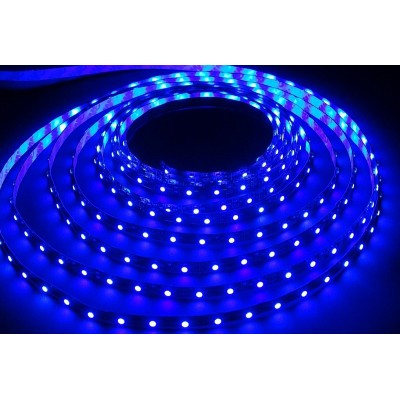 Лента LED SMD 2835/60 Smartbuy-IP65-4.8W/Blue 5 м. (SBL-IP65-4_8-Bl)