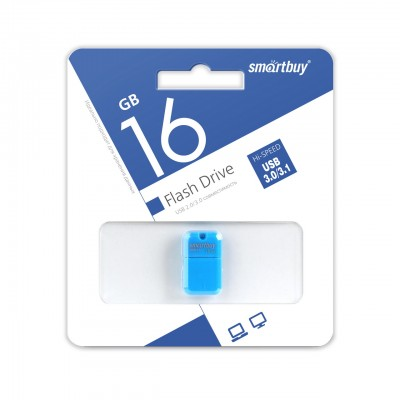 16GB USB Smartbuy ART Blue, 3.0 (SB16GBAB-3)