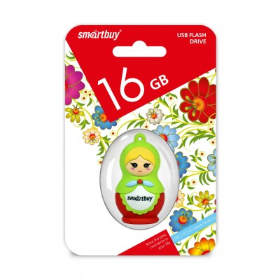 16GB USB Smartbuy Wild series Матрешка (SB16GBDoll)