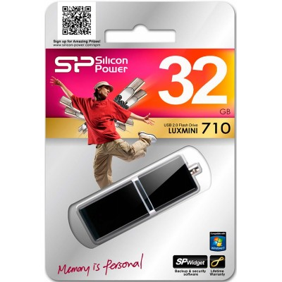 32GB USB Silicon Power Luxmini 710 Black