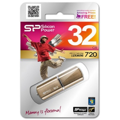 32GB USB Silicon Power Luxmini 720 bronze