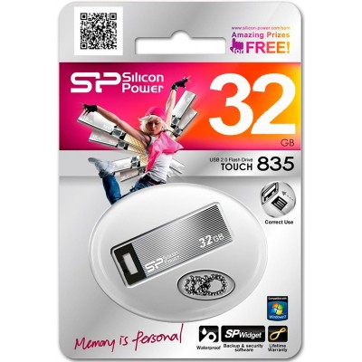 32GB USB Silicon Power Touch 835 Iron Gray