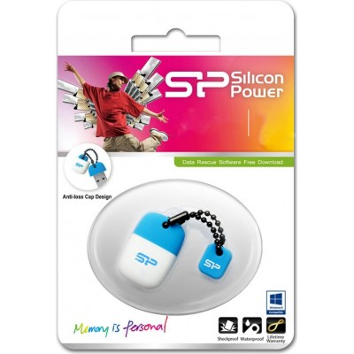 32GB USB Silicon Power Touch T07, Blue
