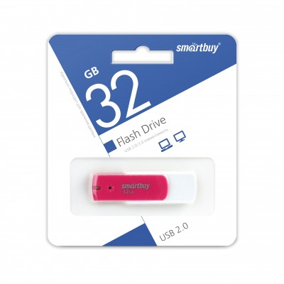 32GB USB Smartbuy Diamond Pink  (SB32GBDP)
