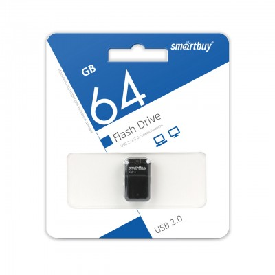 64GB USB Smartbuy ART Black (SB64GBAK)