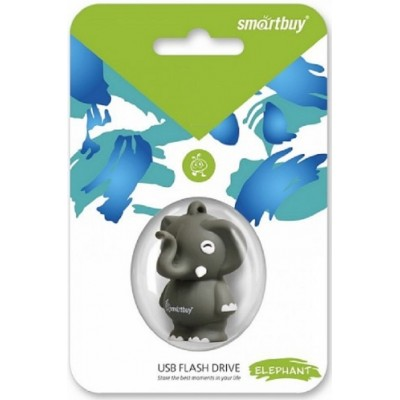 8GB USB Smartbuy Wild series Слоник (SB8GBElpht G)