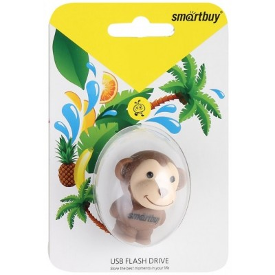8GB USB Smartbuy Wild series Обезьянка (SB8GBMonkey)