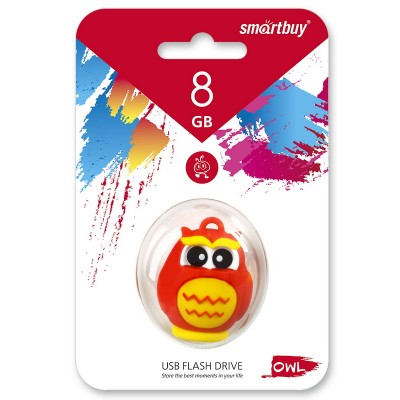 8GB USB Smartbuy Wild series Сова (SB8GBOwl)